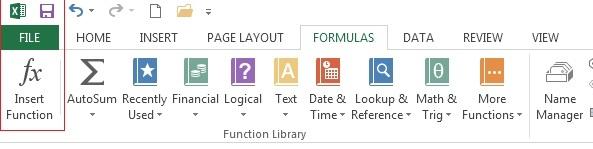 Hướng dẫn cách thực hiện các phép tính trên Excel 2013