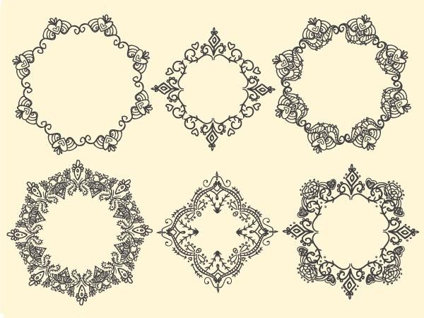 Cách tạo khung vẽ tay trong Adobe Illustrator 5