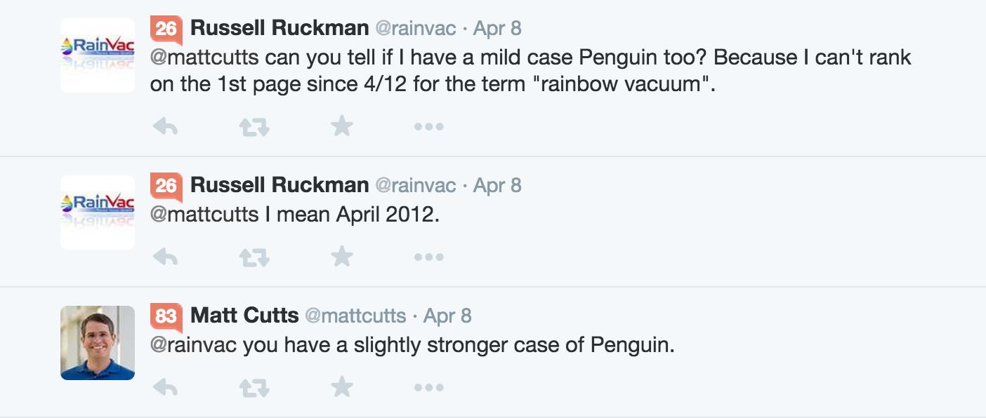 Có thể thoát khỏi Penguin đơn giản bằng cách nhận các liên kết chất lượng?