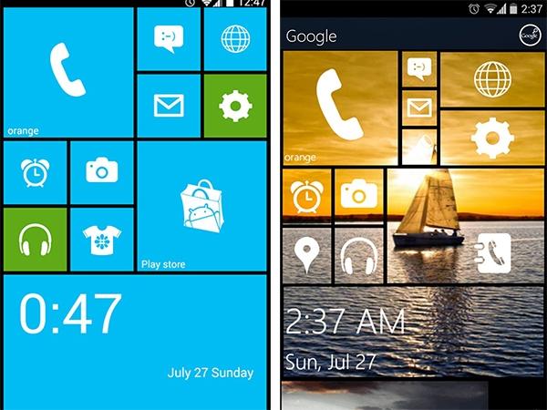 Cách biến Android thành Windows Phone 8 5