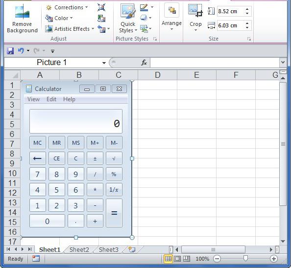 Để hài lòng với công cụ chụp và chỉnh sửa ảnh Screenshot trong Excel