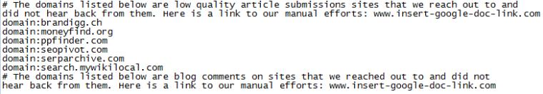 Quá trình gỡ bỏ hình phạt liên kết Google trong năm 2015
