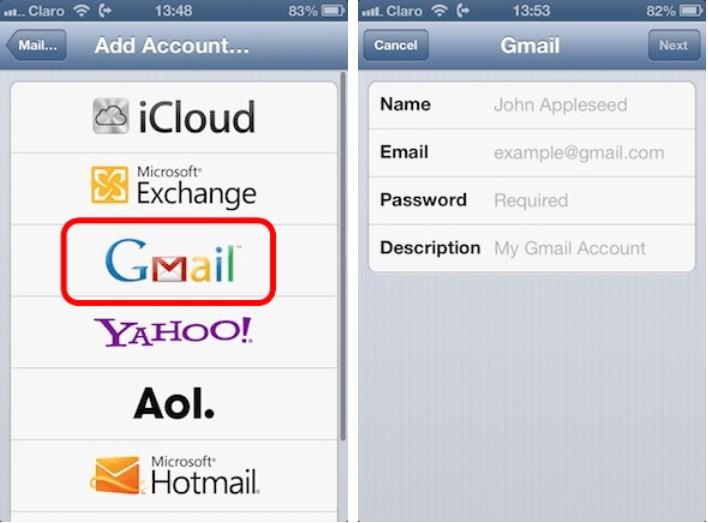 3 cách cực đơn giản để cài đặt nhiều tài khoản gmail trên iPhone