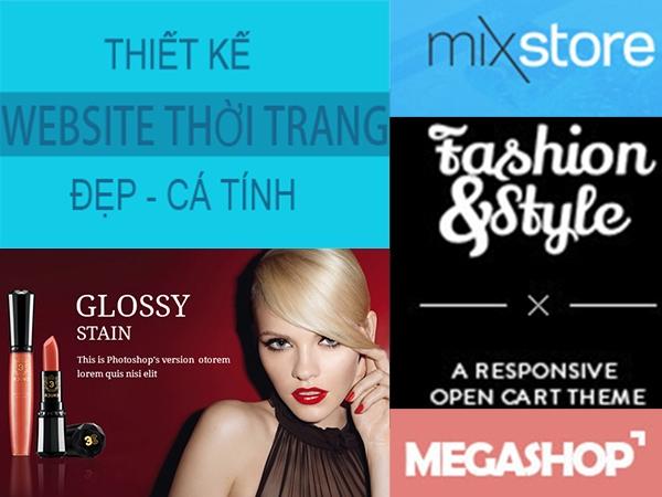 5 mẫu thiết kế website thời trang đẹp lạ, cá tính đầu 2015 4