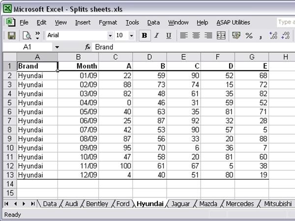 Tuyệt chiêu nhập dữ liệu đồng thời vào nhiều sheet 1