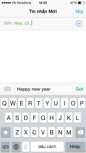Một số thủ thuật hay với tin nhắn SMS trên iPhone