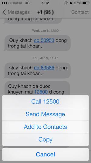 Chuyển tiếp và xóa tin nhắn trên iPhone