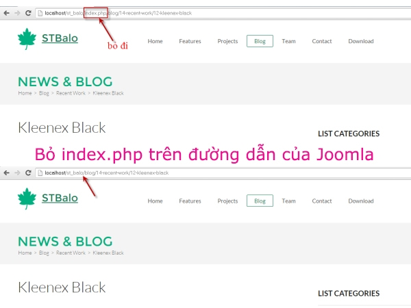 Joomla3.x - Hướng dẫn bỏ index.php trên đường dẫn 2