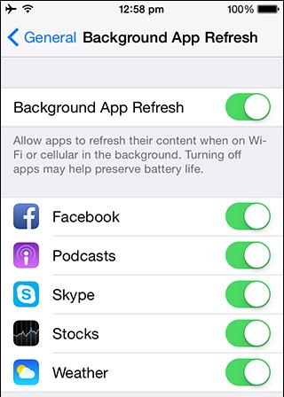Cải thiện tuổi thọ pin iphone hoặc ipad khi dùng iOS 8.3