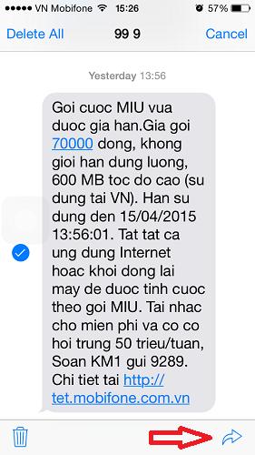 Ứng dụng messages và 5 tính năng độc đáo trong iOS 8