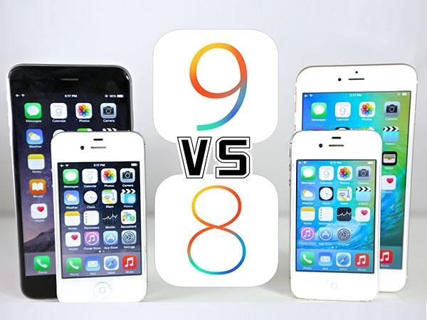 So sánh IOS 9 và IOS 8: Những thay đổi trên giao diện người dùng IOS 9 3