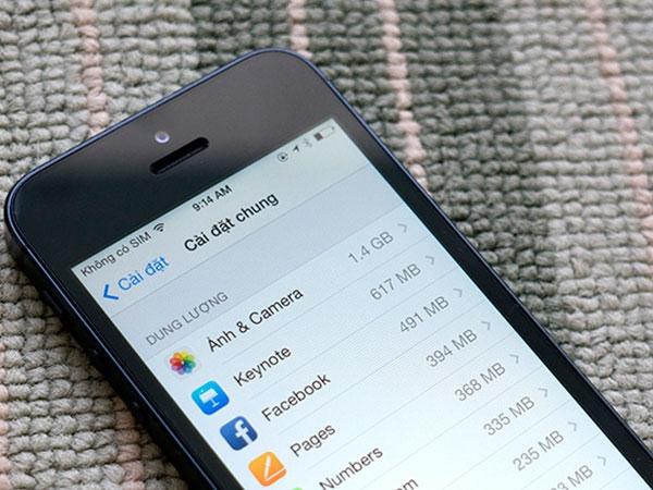 Những cách tốt nhất để giải phóng không gian cho iPhone 16GB 5