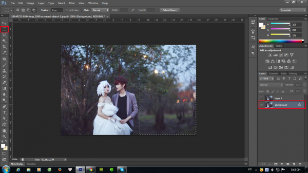 Hướng dẫn tạo ảnh ảo bằng photoshop CS6 4