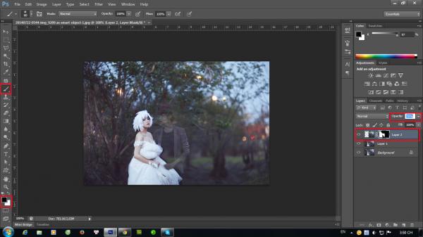 Hướng dẫn tạo ảnh ảo bằng photoshop CS6 6