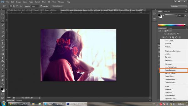 Hướng dẫn khử màu nóng trên ảnh bằng Photoshop CS6 7