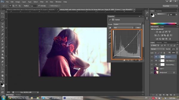 Hướng dẫn khử màu nóng trên ảnh bằng Photoshop CS6 10