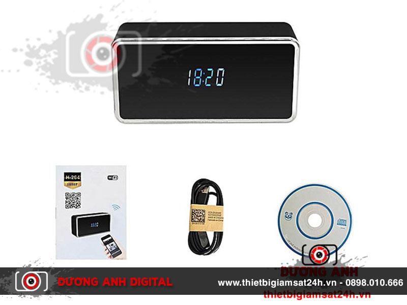 Đồng hồ camera wifi HD Z21