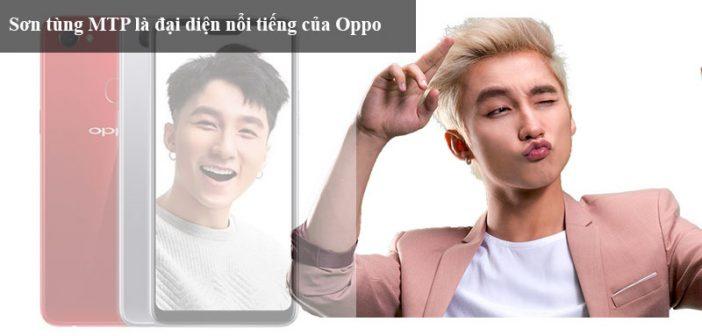 Sơn Tùng MTP là đại diện thương hiệu của Oppo