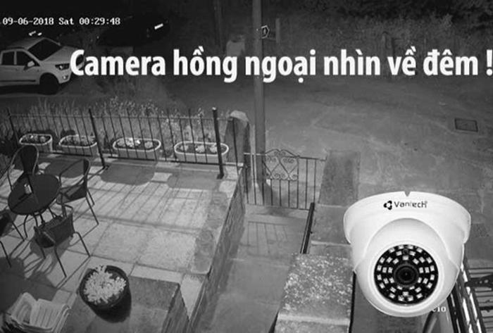 Chất lượng hình ảnh của camera hồng ngoại