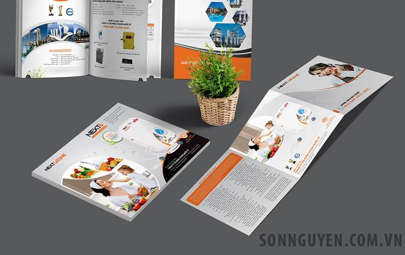 In các ấn phẩm quảng cáo