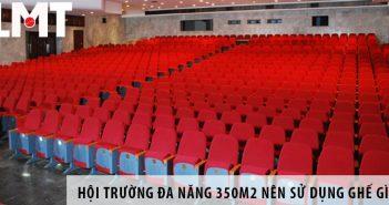 Thiết kế hội trường đa năng 350m2 nên sử dụng ghế gì?