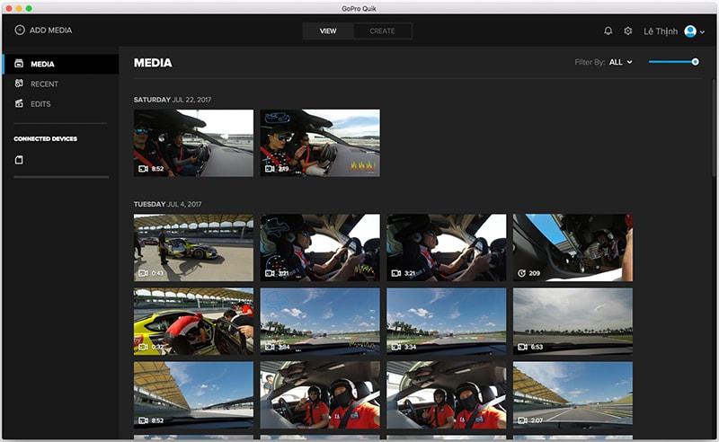 Quik là một app làm video trên điện thoại nổi tiếng và được nhiều người tin dùng