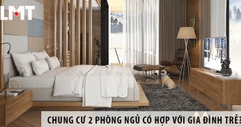 Thuê chung cư 2 phòng ngủ có phù hợp với gia đình trẻ không?