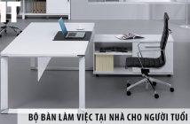 Mua bộ bàn làm việc tại nhà ở Hà Nội cho người tuổi Ngọ