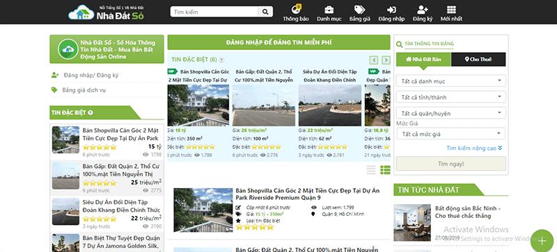 Nhadatso.com là 1 trong những website đăng tin mua bán nhà đất hiệu quả tại Ninh Thuận