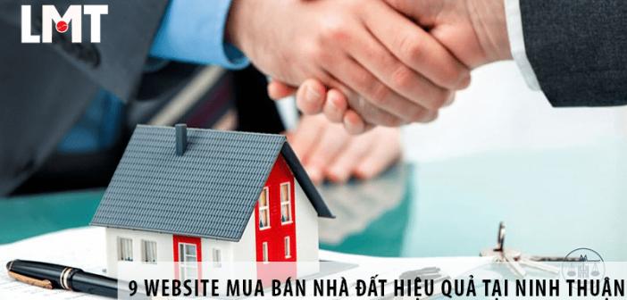 TOP 9 website mua bán nhà đất hiệu quả tại Ninh Thuận