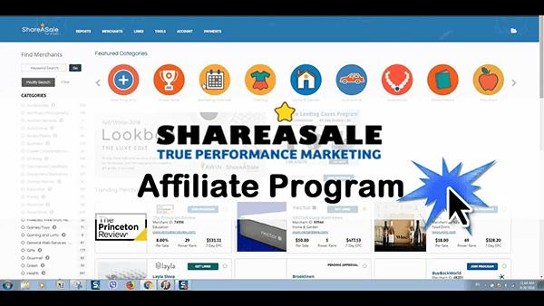 ShareASale Affiliate là website tiếp thị liên kết hàng đầu đã hoạt động được 17 năm