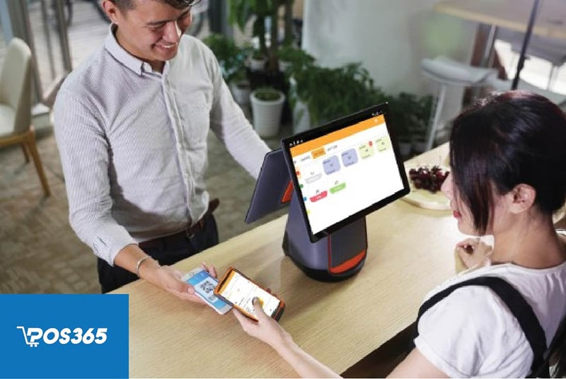 Sử dụng hệ thống phần mềm POS365 giúp thực hiện thanh toán qua nhiều hình thức khác nhau