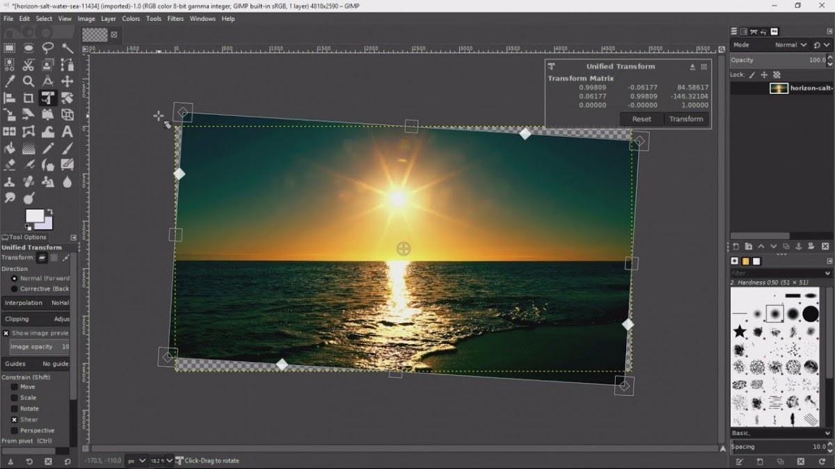 GIMP là công cụ chỉnh sửa ảnh free với giao diện rất giống Photoshop