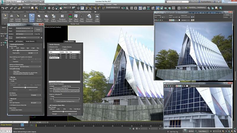 Phần mềm thiết kế sân vườn 3DsMax