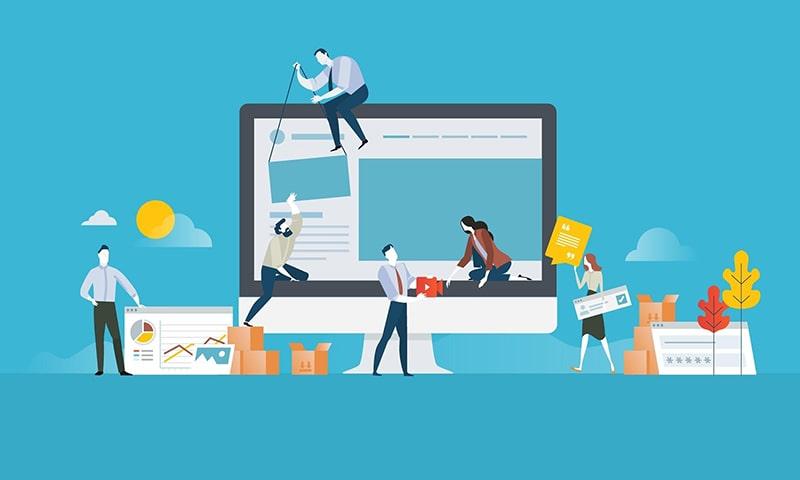 Lý do doanh nghiệp phải sửa chữa website?